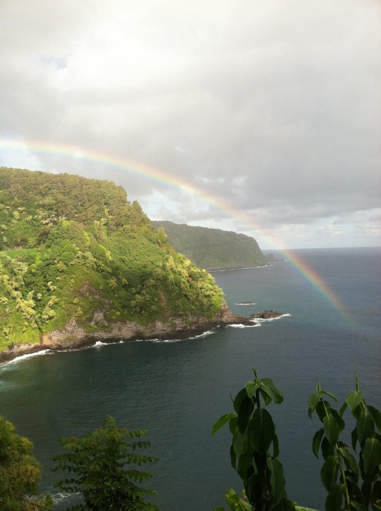 Rainbow on the Road to Hana