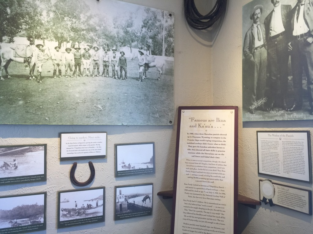 Learn about the history of the vineyard in the breezy anteroom before the tasting room.